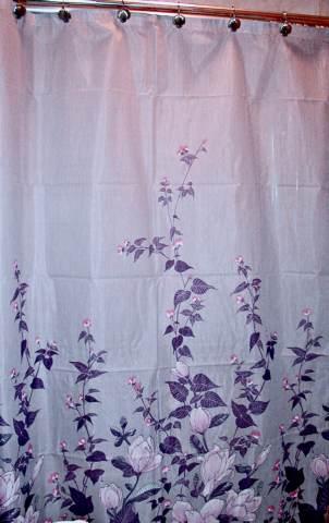 Lilac And Grey Bathroom